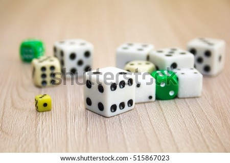 the dice #515867023