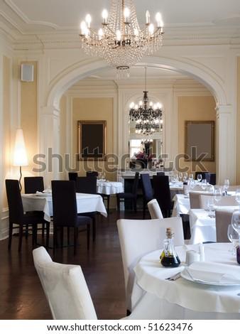 interior of a restaurant #51623476