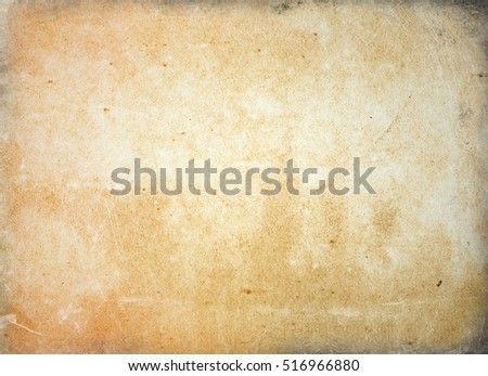 brown empty old vintage paper background. Paper texture #516966880