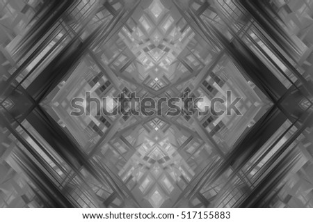 Abstract illustration grey background with various color lines and strips. illustration technology. #517155883