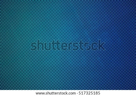LED screen gradient blue green dots abstract background