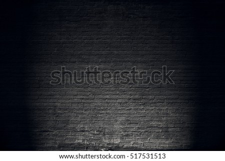 Old black wall.Grunge texture