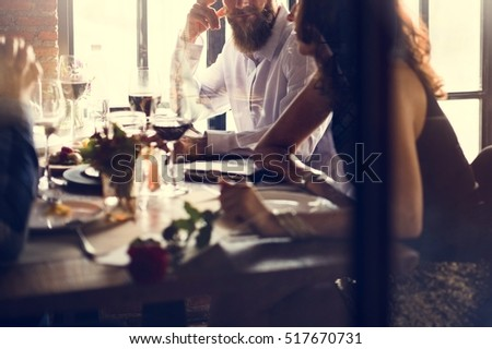 Restaurant Chilling Out Classy Lifestyle Reserved Concept #517670731