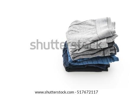 men underwear isolated on white background #517672117