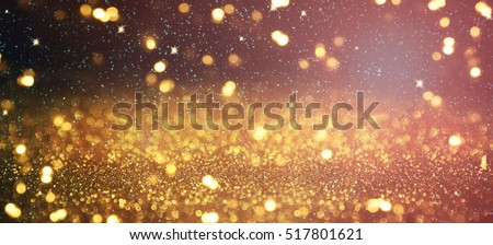 Blurred glitter lights background