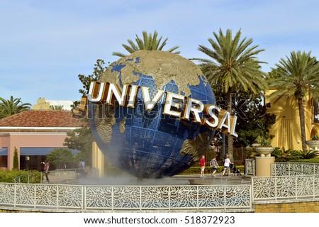 Universal Studios Resort, Orlando, Florida, USA - October 25, 2016: The Universal Orlando Resort adventure theme park in Orlando #518372923