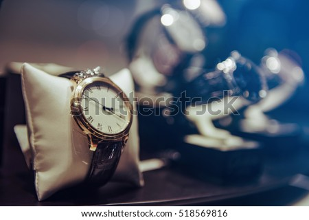 Luxury Watches Royalty-Free Stock Photo #518569816