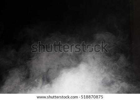 Smoke on black background #518870875