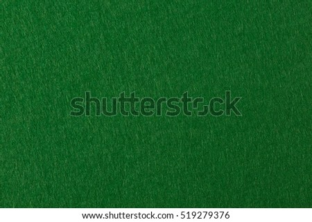 Green felt texture for poker an casino theme. High resolution photo. #519279376