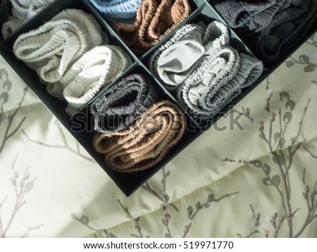 Male underwear keep them neat in the box. #519971770