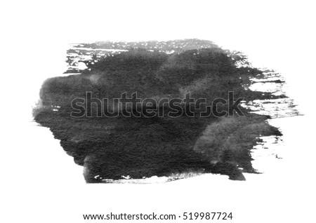 Brush stroke isolated on background Royalty-Free Stock Photo #519987724