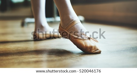 Ballerina Girl Tie Shoes Concept #520046176