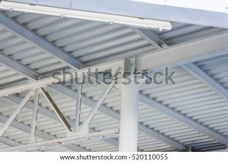The iron structure . The construction industry . Quickly erected constructions and houses . #520110055