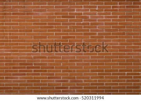 Orange brick wall #520311994
