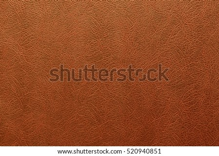 Brown leather background or texture. #520940851