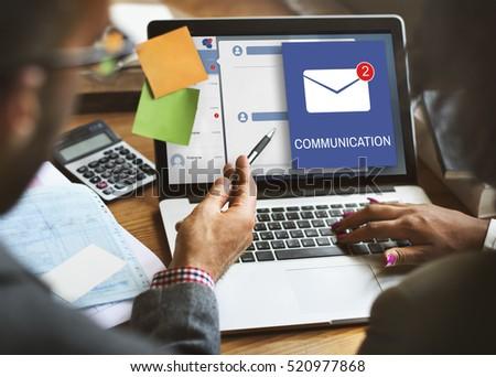 Letter Envelop Message Notification Concept #520977868