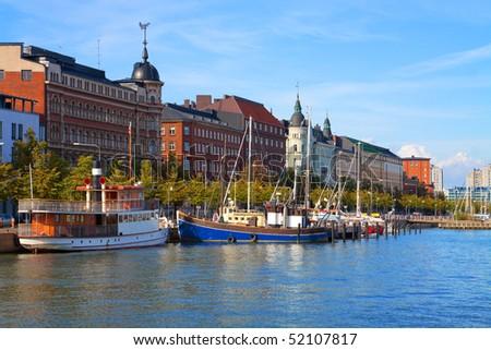 Old Town pier in Helsinki, Finland #52107817