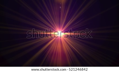 Abstract of lighting for background.abstract of digital  lens flare background #521246842