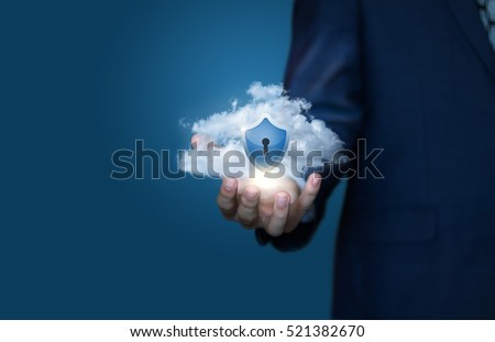 cloud data security concept