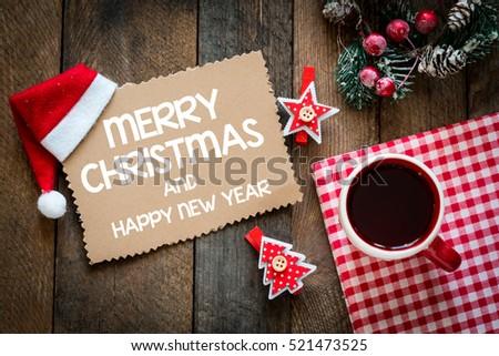 Merry christmas/Christmas holiday decorations.  #521473525