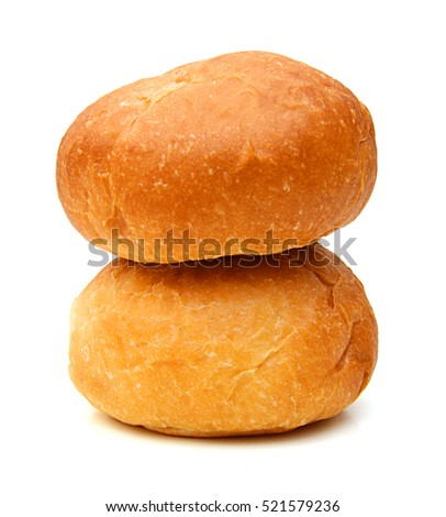 bread on a white background #521579236
