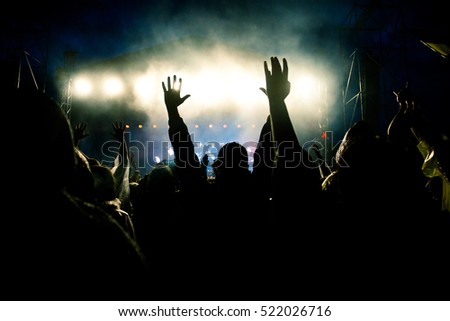 crowd at concert #522026716