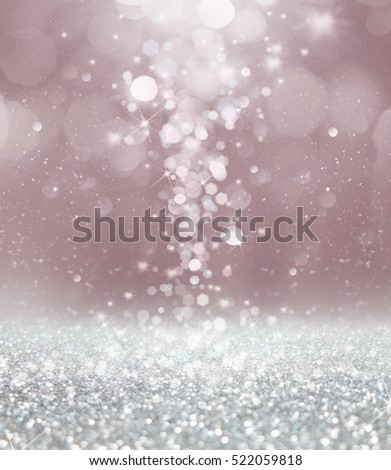 Abstract of Christmas with bokeh light background. #522059818