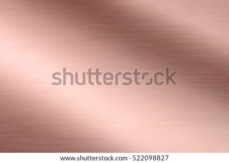 Aluminum texture background with rose gold #522098827