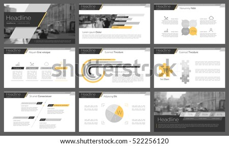 Elements of infographics for presentations templates. Leaflet, Annual report, book cover design. Brochure, layout, Flyer layout template design. Vector Illustration. Royalty-Free Stock Photo #522256120
