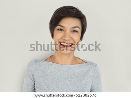 Lady Portrait Studio Shoot Concept #522382576