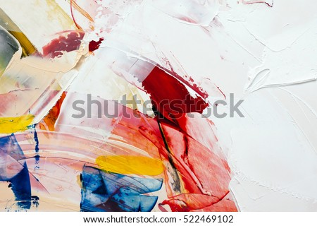 painted abstract background Royalty-Free Stock Photo #522469102