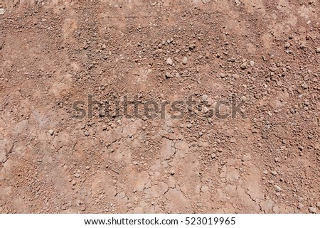 Soil texture of natural background #523019965