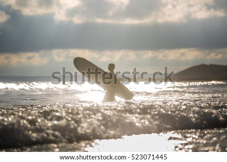 Surfing Themed Photo
