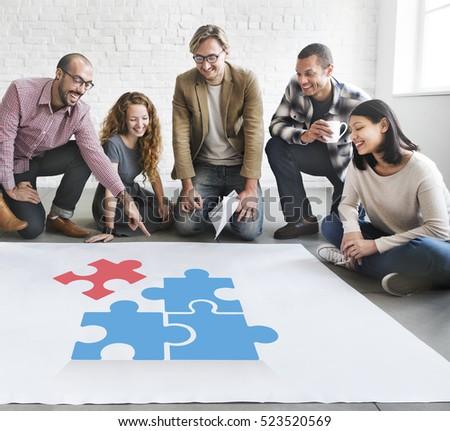 Team Building Group Work  #523520569