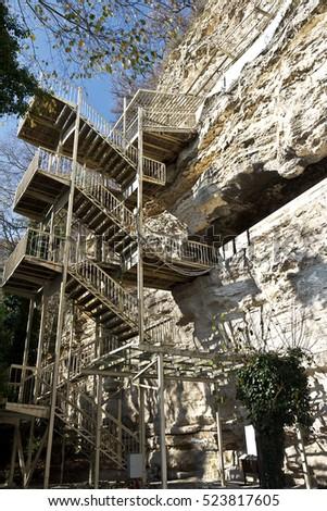 Aladzha rock monastery, Bulgaria #523817605