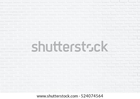 white brick wall for background #524074564