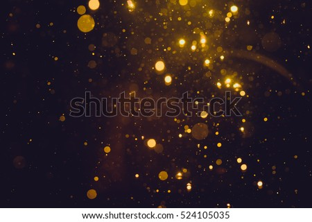 Gold abstract bokeh background #524105035