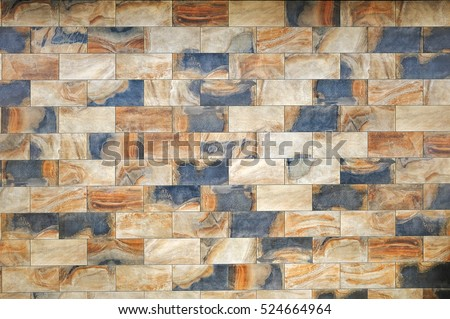 Ceramic granite tiles pattern with a relief structure, background, texture #524664964
