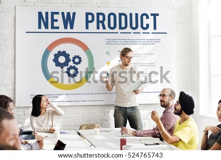 New Product Development Success Concept #524765743