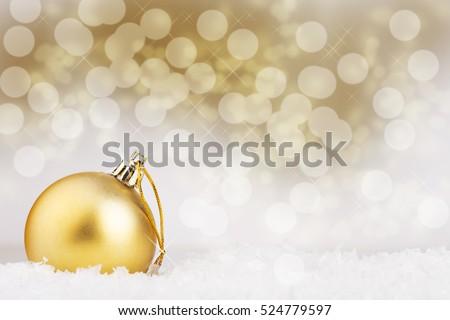 Christmas ball on abstract background #524779597