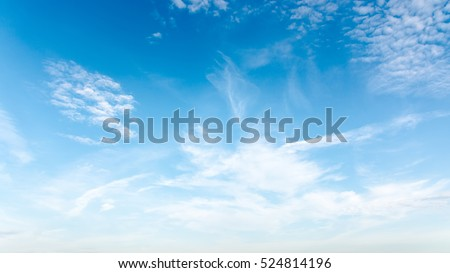 summer landscape sky cloudy Royalty-Free Stock Photo #524814196