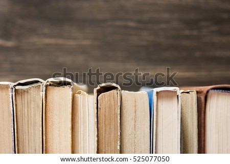 Old Books Background. #525077050