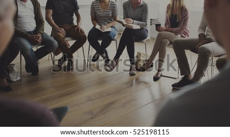 People sitting in a circle counseling #525198115