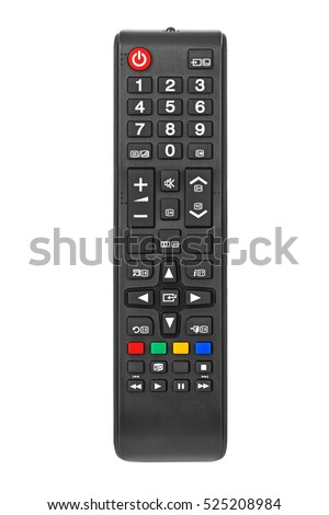 Remote control isolated on white background #525208984