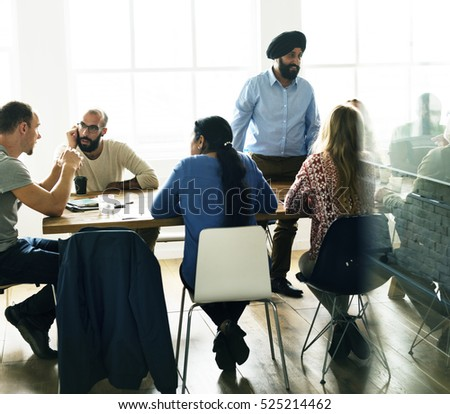 People Meeting Seminar Office Concept #525214462