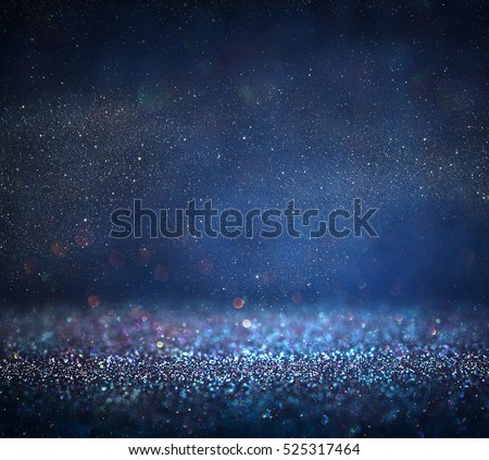 glitter vintage lights background. defocused. Royalty-Free Stock Photo #525317464