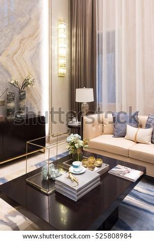 interior of modern living room #525808984
