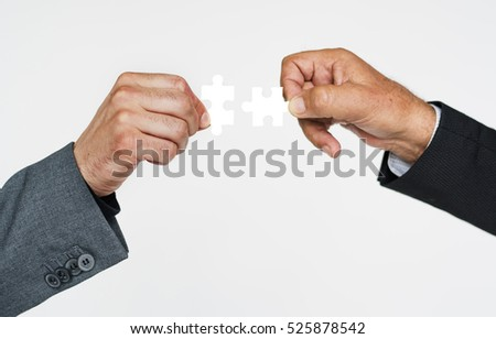 Collaboration Business Work Strategy Concept #525878542