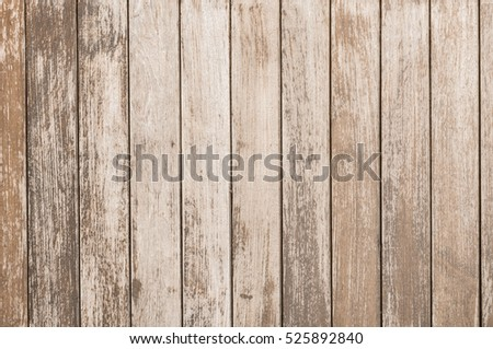 background and texture of decorative old wood striped on surface wall #525892840