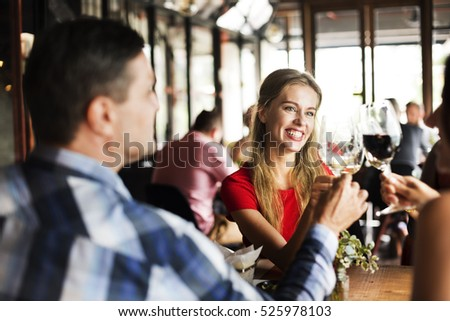 Restaurant Chilling Out Classy Lifestyle Reserved Concept #525978103